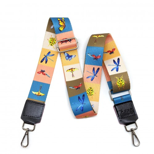 Bag Strap | Insects